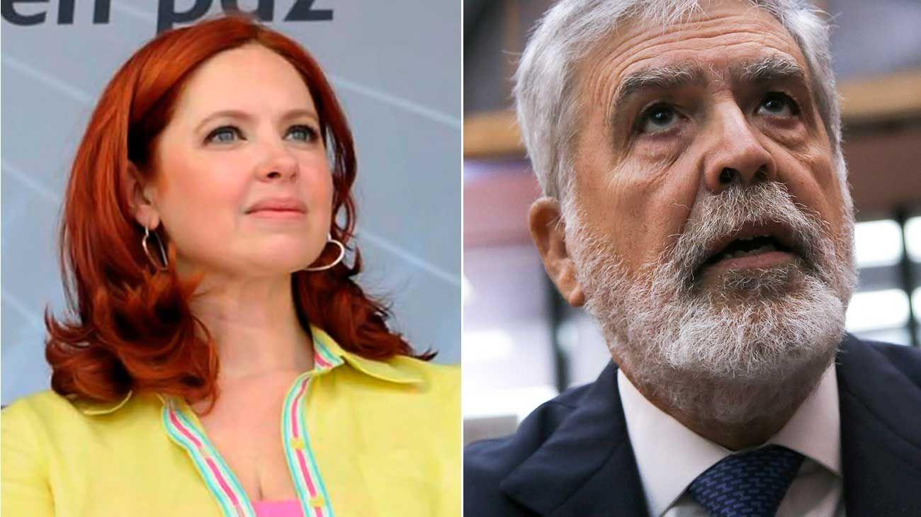 Andrea Del Boca y Julio De Vido irán a juicio oral por la novela que nunca se estrenó