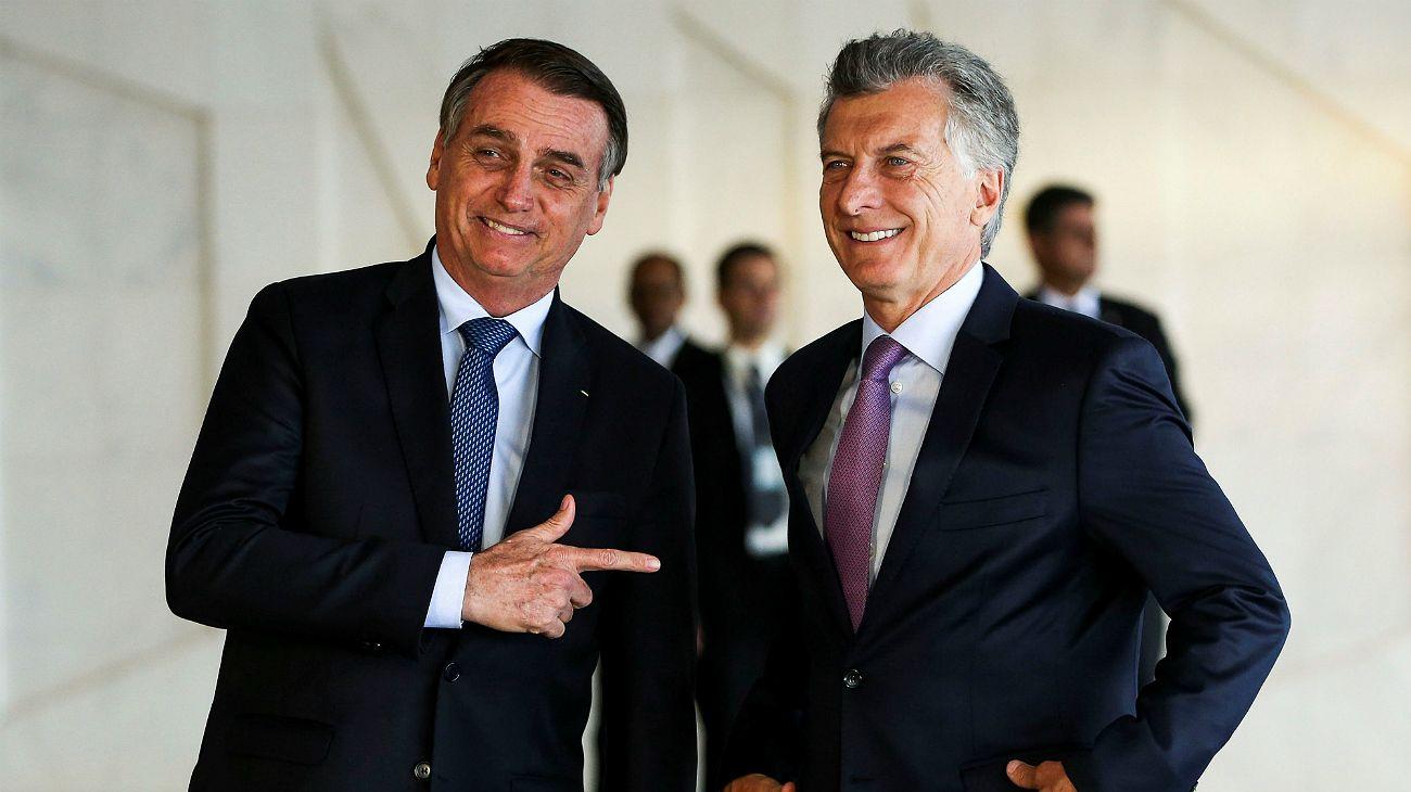 """Una """"jornada de rechazo"""" recibirá a Bolsonaro en Buenos Aires"""