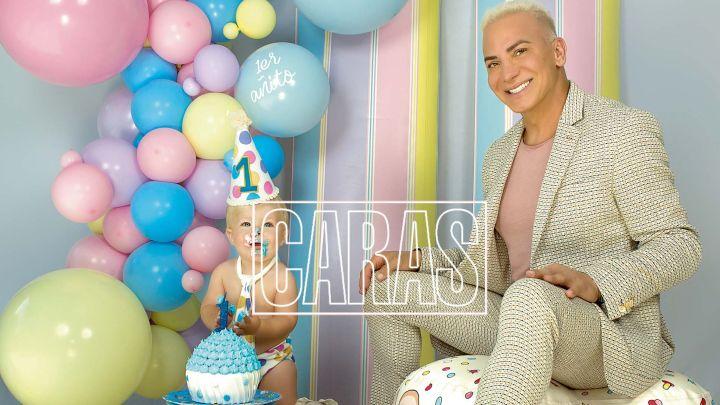 El soñado cumpleaños de Dionisio, el hermoso hijo de Flavio Mendoza.
