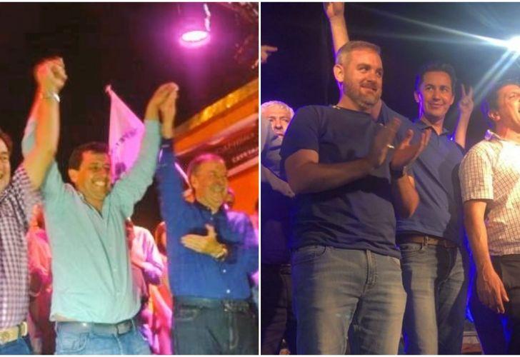 El festejo peronista por la recuperación de 28 municipios en Córdoba.