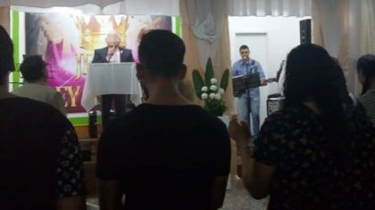 pastor evangelista de la iglesia manantial de vida en Berisso