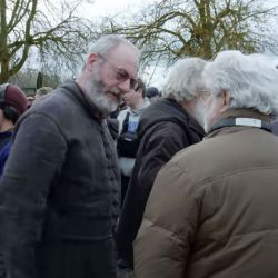 George Lucas visitó el set de GOT.