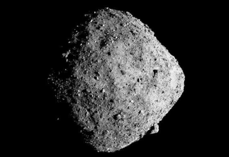 El asteroide Bennu tiene 500 metros de diámetro