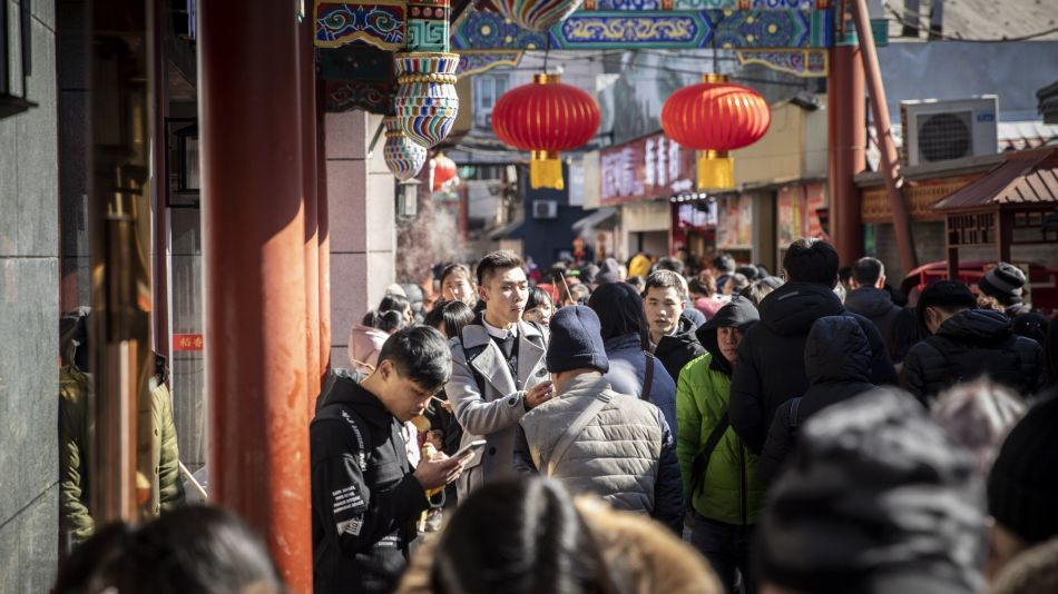 Retail in Beijing As China China Is Set to Cut Rates on Slowing Inflation