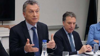 Mauricio Macri y Nicolás Dujovne