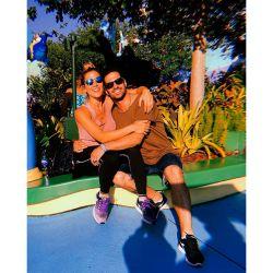 Fotos de Jimena Baron con su hijo