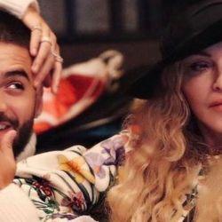 Madonna lanzó dos canciones con Maluma.