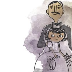 Cada 24 horas, 47700 niñas menores de edad inician su vida como casadas.
