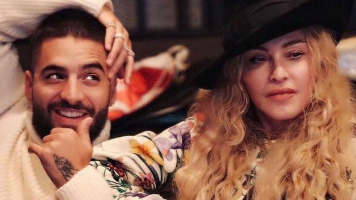 La emoción de Maluma tras grabar con Madonna