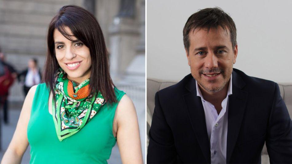Victoria Donda y Mariano Recalde 20190417