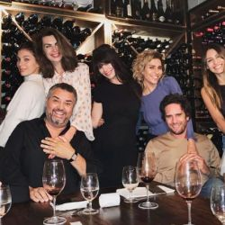 Pampita y Mariano Balcarce cenaron con Lucila Polak y Camila Morrone