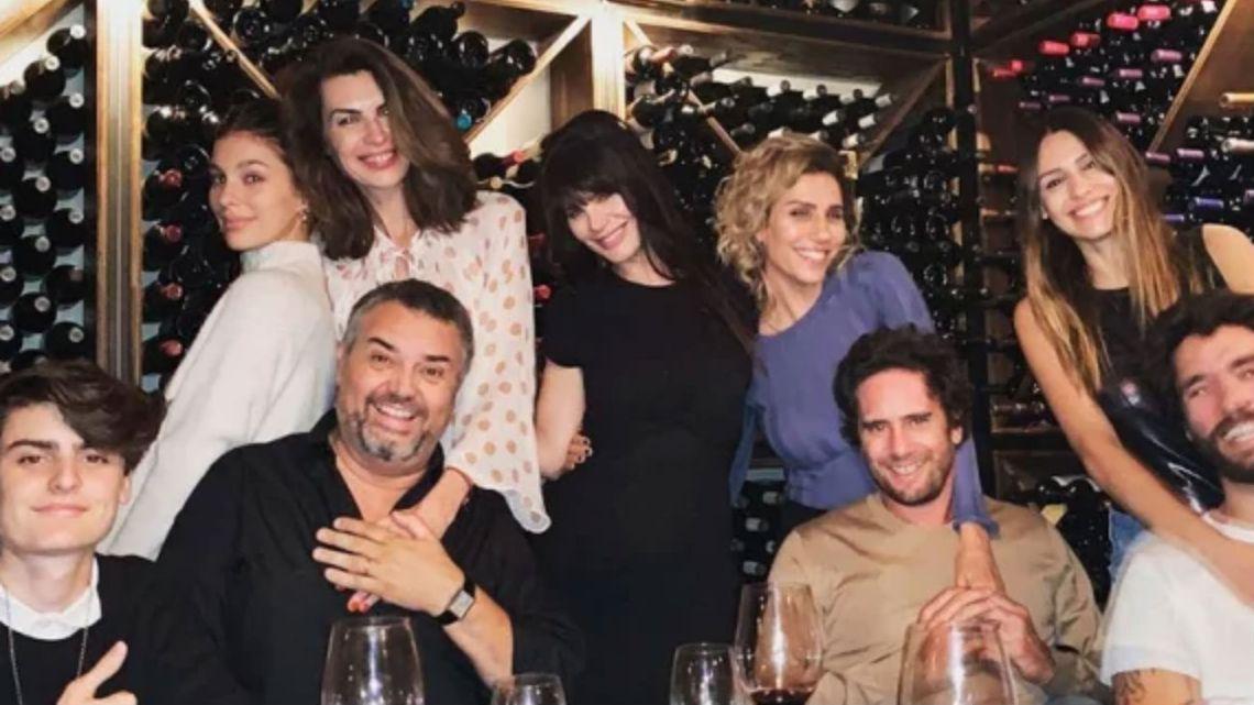 Pampita y Mariano Balcarce cenaron con Lucila Polak y Camila Morrone.