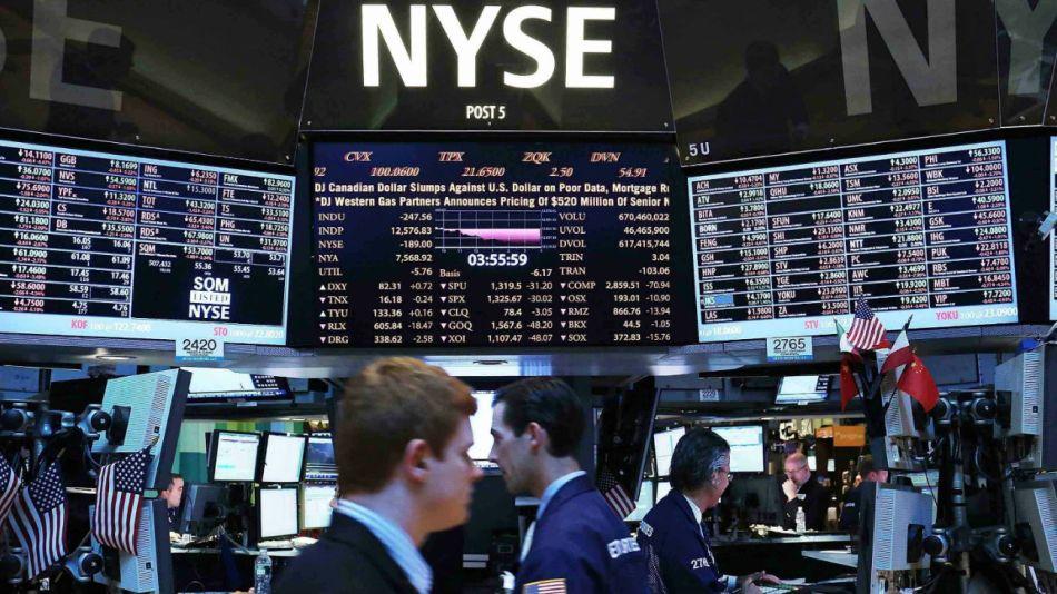 La Bolsa de Wall Street.