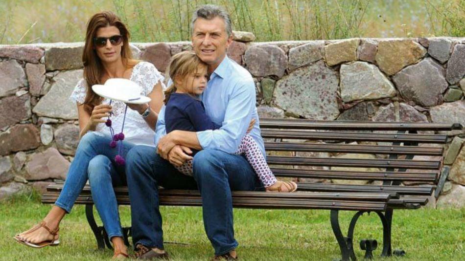 Archivo: Mauricio Macri de vacaciones con su familia