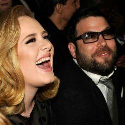 Adele y Simon Konecki.