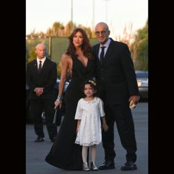 Guillermo Marín, Valeria Archimó y su hija