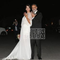 Jorge Rial y Romina Pereiro, marido y mujer
