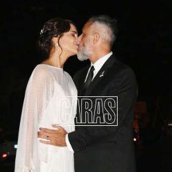 Jorge Rial y Romina Pereiro ya son marido y mujer