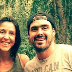 Valeria Repetto y Hernan Keen, su pareja.