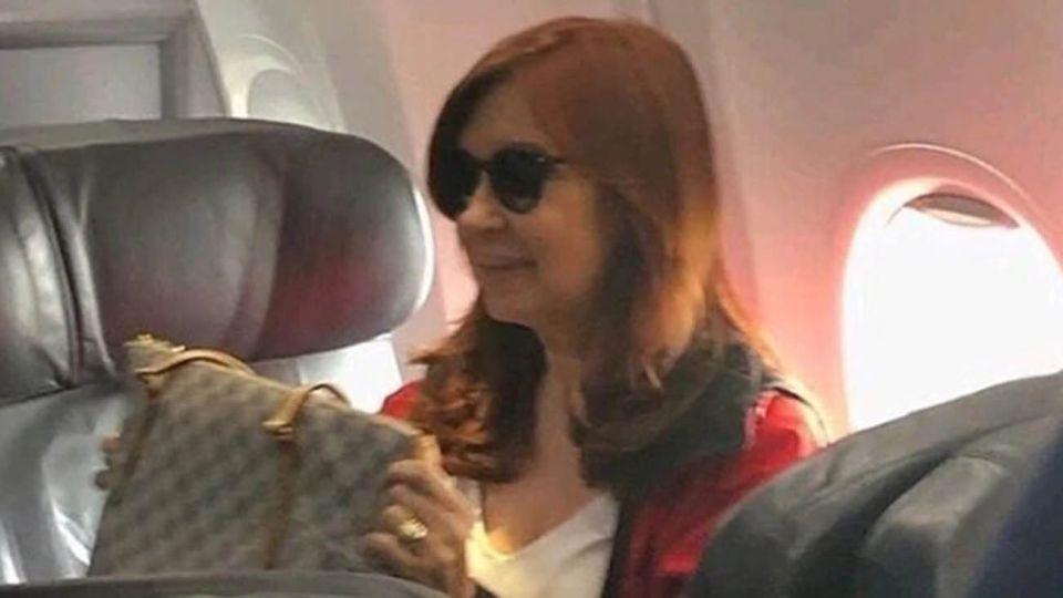 Cristina Fernandez de Kirchner llegando a Cuba