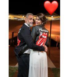 Rial subió la foto más esperada de su boda