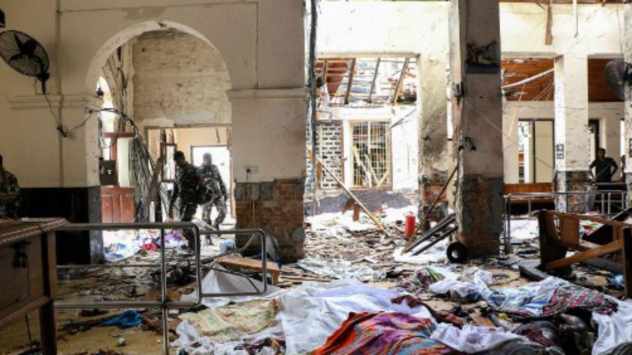 El grupo Estado Islámico se reivindicó los atentados de Sri Lanka