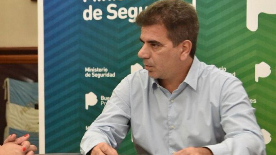 Buenos Aires Security Minister Cristian Ritondo.