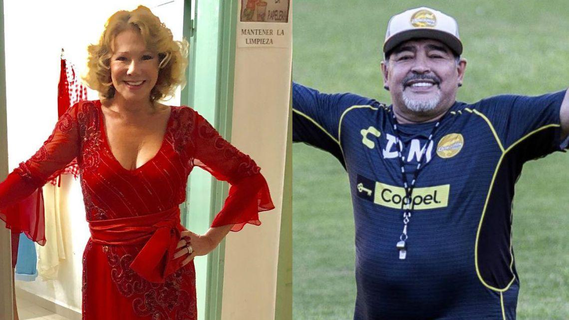 ¿Qué pasó entre Soledad Silveyra y Diego Maradona?