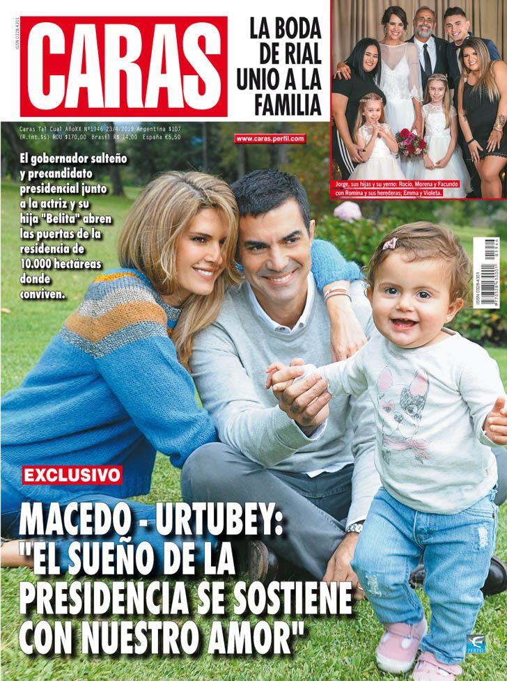 Isabel Macedo y Juan Manuel Urtubey abren las puertas de su hogar
