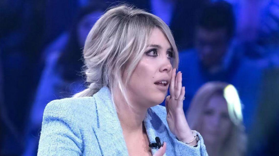 Wanda Nara estalló en llanto en la TV y se defendió de las acusaciones de Ivana Icardi