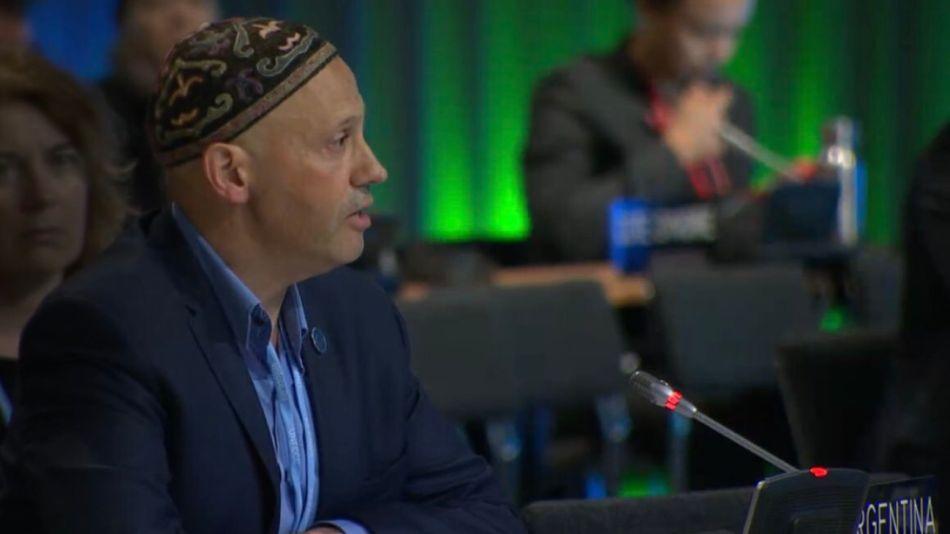 Sergio Bergman, secretario de Gobierno de Ambiente y Desarrollo Sustentable de la Nación.