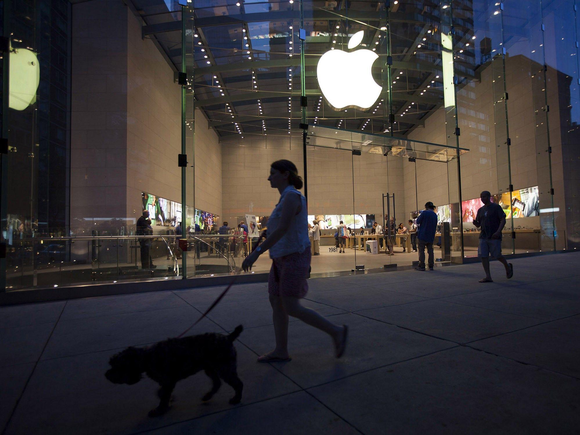 Apple no alcanzará su meta de ingresos trimestrales por el coronavirus