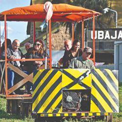 La trochita de Ubajay y su museo ferroviario.