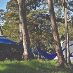Camping en Santa Teresa, Rocha, Uruguay.