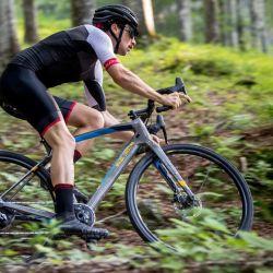 Las bicicletas de gravel son rápidas y resistentes.