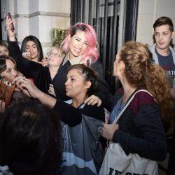 Vicky Xipolitakis celebró el millón de seguidores en Instagram.