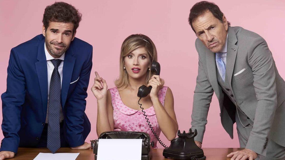 """Laurita y Cabré, listos para estrenar """"Departamento de soltero"""""""