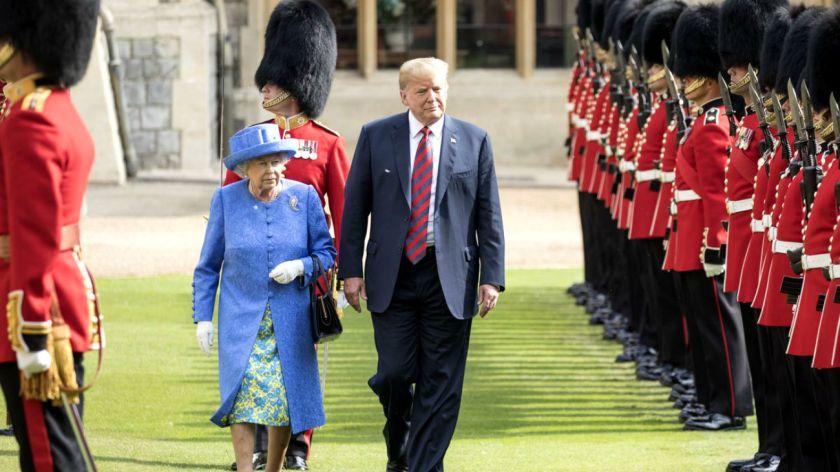 Donald Trump realizará su primera visita de Estado a Reino Unido