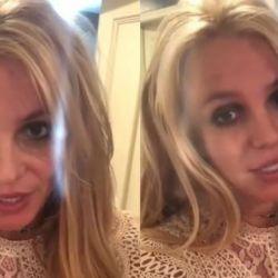 Britney Spears grabó un video para sus seguidores.