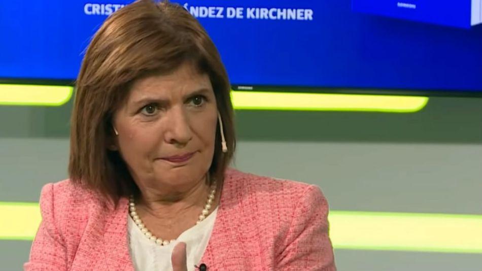 Patricia Bullrich fue entrevistada por José del Rio en LN+.