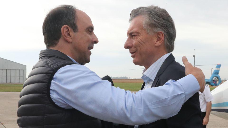 Mauricio Macri con José Corral