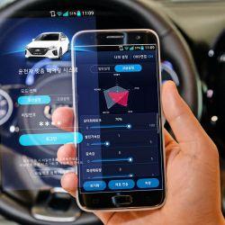 Con un smartphone se podrá controlar el rendimiento de los futuros vehículos eléctricos.