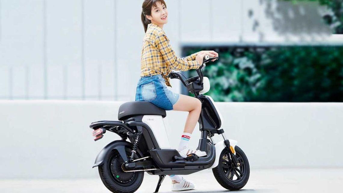 Mi HIMO T1: la bicicleta eléctrica que se parece a una moto