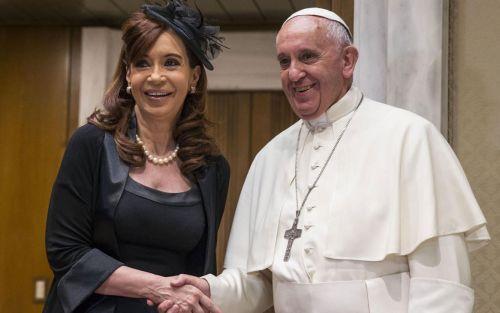 Cristina Kirchner usó una entrevista que le hicieron al Papa para cuestionar a los medios