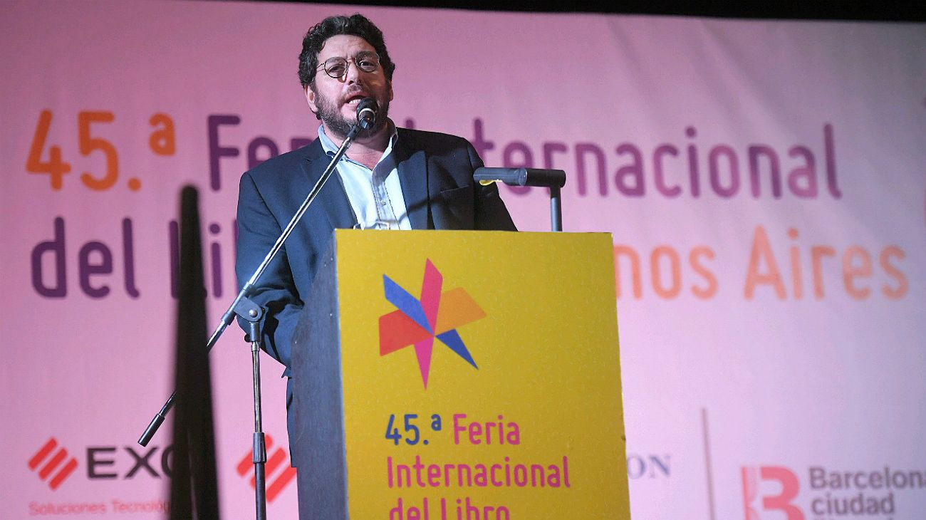 """Pablo Avelluto: """"Espero que la presentación del libro de Cristina sea pacífica"""""""