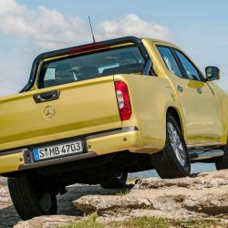 Mercedes-Benz Clase X: Parabrisas la manejó en Chile en 2017