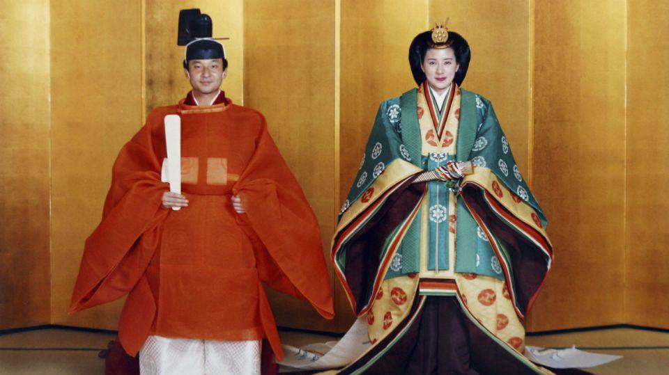 boda emperadores naruhito masako japon