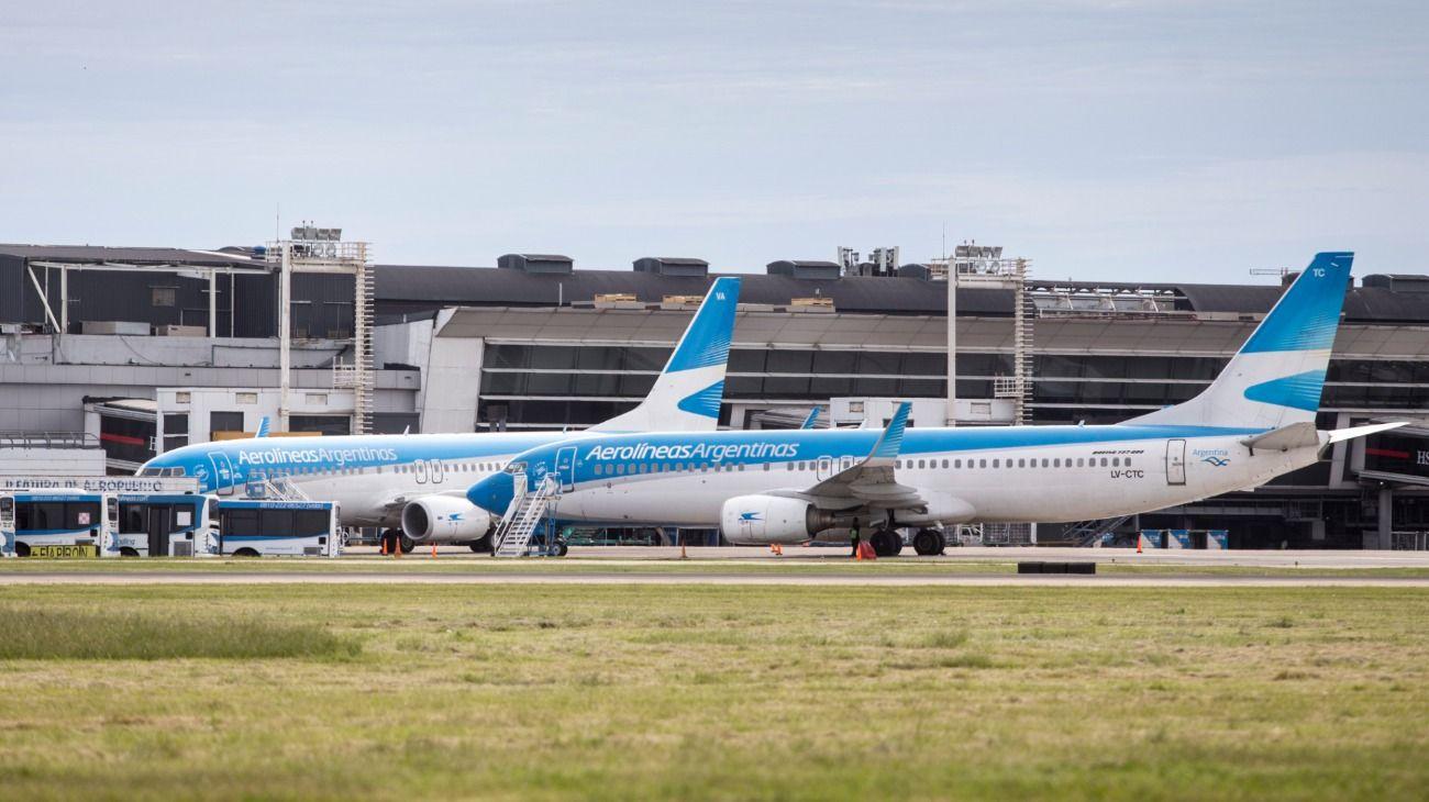 """Aerolíneas Argentinas y los pilotos alcanzaron un """"principio de acuerdo"""""""
