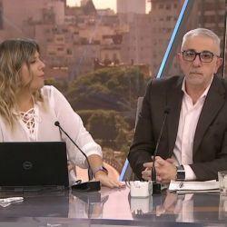 Canaletti y Dominique pasaron un incómodo momento
