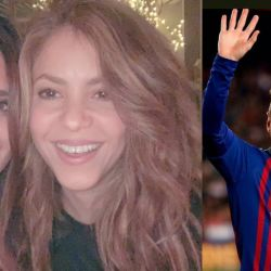 Roccuzzo y Shakira, juntas.